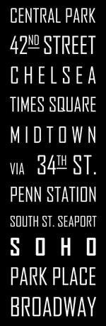 NYC - Subway Sign