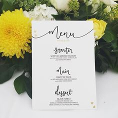 I love to see my #lettering all finished and on the #wedding tables 😀. tis only surpassed by a happy #bride and #groom 👰👫💍💕 . #handlettering #calligraphy #gold #handfinished #wedding #weddingflowers #engagement #bespoke #commission #flowers #yellow #happycouple #love @weddingmagazine @bridesmagazine @perfectweddingmag