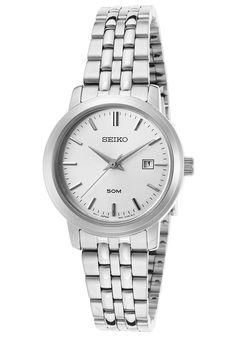 Women's Silver-Tone SS Silver-Tone Dial - Seiko Watch | 57.0% de réduction