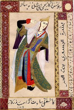 Morrigan Dancing by lmainjohnson7, via Flickr Mediaeval Persian Painting