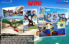 Win a 3 Night Holiday at Zagame's Gold Coast