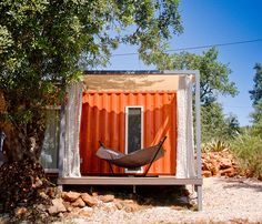 nomad living by studio arte is a shipping container retreat - designboom | architecture & design magazine