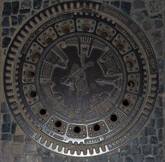 Manhole cover - Berlin