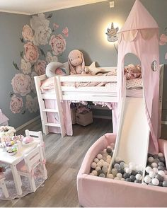 baby girl nursery room ideas 758997343435935932 - Using Little Girls Room Adhere to a design style that you will love, but in addition one which can help make your room feel larger. Decorating a kid's room can be fun, partic… Source by nadiababaei Baby Bedroom, Baby Room Decor, Nursery Room, Girl Nursery, Room Baby, Baby Girl Bedroom Ideas, Kid Decor, Girls Bedroom Mural, Themed Nursery
