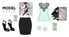 """""""Untitled #207"""" by amal123456871 ❤ liked on Polyvore featuring City Chic, Dettagli, Kate Spade and Smashbox"""