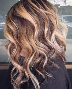 10 Medium to Long Hairstyles in Exciting Blonde Colors - Women Haircut 2020 Modern Medium to Long Hairstyles, Ombre Balayage Hair Styles for Women Ombre Hair Color, Hair Color Balayage, Blonde Color, Ombre Balayage, Brown Blonde, Ashy Blonde, Blonde Hair, Brunette Color, Light Blonde