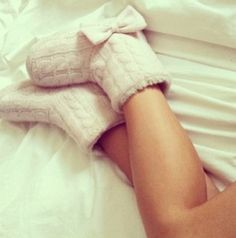 It doesn't get much cuter than a pair of fluffy slippers with an adorable nightie.