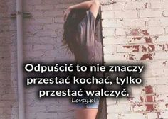 Teraz to rozumiem GZ All You Need Is Love, Peace And Love, Dimonds, Happy Photos, Me Quotes, Sad, Life, Quote, Happy Pictures