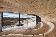 Wild Reindeer Center Pavilion, Dovrefjell, Norway (World Architecture Award Winner, 2011)