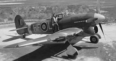 Hawker Typhoon low level fighter-bomber/ interceptor rival to Focke-Wulf 190 and successful as a killer. Combined with rockets, they were very effective. Ww2 Aircraft, Fighter Aircraft, Military Aircraft, Aircraft Photos, Fighter Pilot, Fighter Jets, Hawker Tempest, Focke Wulf 190, Hawker Typhoon