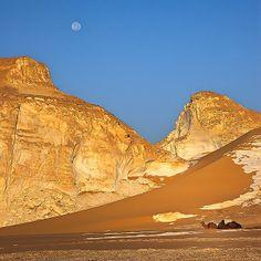 Trip in the White Desert national park, Farafra oasis, Western Desert, Egypt
