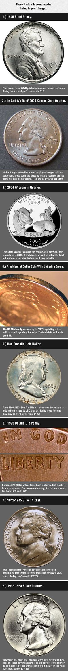 You Should Probably Check Your Change Right Now