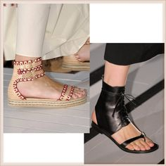 Flat #sandals for #summer 2013. #shoes  #style #fashion