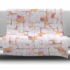 East Urban Home Cobble by Rachel Watson Fleece Blanket Size: 80'' L x 60'' W