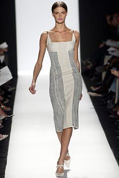 Narciso Rodriguez Spring 2004 Ready-to-Wear Fashion Show - Narciso Rodriguez, Carmen Kass