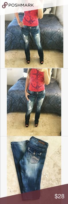 Almost Famous Jeans Almost Famous jeans size 0 in like new condition Almost Famous Jeans