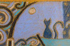 Cabideiro em madeira Ipe 3 ganchos gato