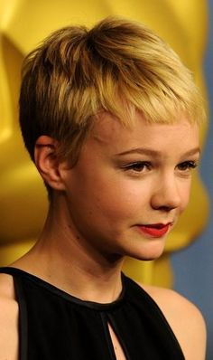 Carey Mulligan Pixie Hairstyles