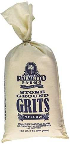 Weekends at the beach. Treat the yourself to a 2 lb. bag of Palmetto Farm's highest quality non-GMO white corn grits that are naturally gluten free and produced in a wheat free facility. The grain is slowly ground in a traditional stone mill so that it retains all of the natural oils found in the germ (heart of the corn). All natural, nothing added, and nothing taken away. Try a bag of grits today and you won't be disappointed. #StoneGroundGrits #StockingStuffer