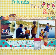 Friends Fish & Me by Kate-Vickers, via Flickr