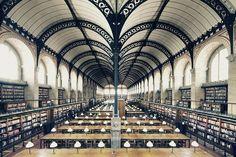Bibliothèque Sainte-Geneviève - Franck Bohbot