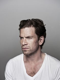 Danish actor Nikolaj Lie Kaas (b. 1973) © Photo by Morten Germund // Photography, Denmark