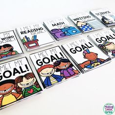 Pass out these goal brag tags when your students meet goals!