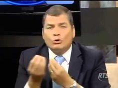 Rafael Correa opina sobre Enrique Peña Nieto sin nombrarlo