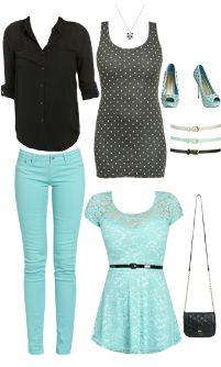 WetSeal.com Runway Outfit:  bella by billy.