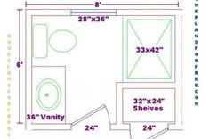 5x10 bathroom floor plan | addition | pinterest | bathroom