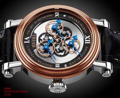 Montres Speake-Marin 2013 - Speake-Marin Triad - Photos de montres