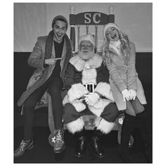 Only Santa can know for sure, but we're pretty sure that they were very nice.  Ryan McCartan posted this lovely portrait of him and his girlfriend, Dove Cameron, sitting with the big guy himself! What do you think the adorable duo asked for this holiday season? Twitter: @ryanmccartan  Instagram: @mccarya  Photo: Ryan McCartan/Instagram