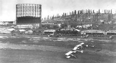 Long Beach Airport (LGB) and Signal Hill, 1928