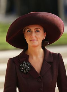 18th January 2015, HRH Princess Claire of Belgium celebrates her 41st Birthday.