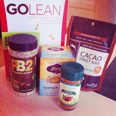 Endelig kom pakken fra iHerb ❤️ #iherb #healthy #food #yum #Padgram