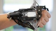 I found 'WristBow (Homemade Crossbow-Gauntlet)' on Wish, check it out!
