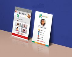 Follow us Visiting Card #kyrascope our social Channels