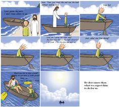 [COMIC] Jesus always does more then we expect