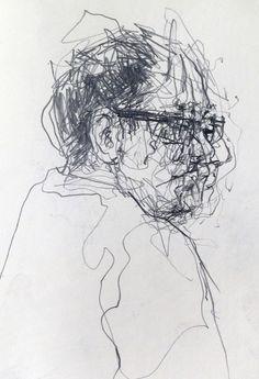 Sketching in pubilc. Graphite pencil in A5 Moleskine sketchbook.