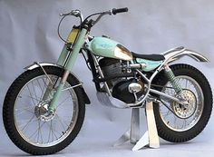 1964, Bianchi 203 Trials Special by Il Signore Inzoli.