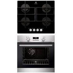 ELECTROLUX EZB2400AOX + ELECTROLUX EGT6342YOK - Súprava spotrebičov Wall Oven, Kitchen Appliances, Home, Diy Kitchen Appliances, Home Appliances, Ad Home, Homes, Kitchen Gadgets, Haus