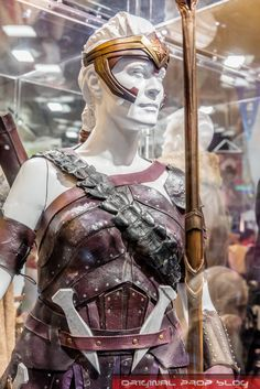 Antiope Wonder Woman armor photo by OriginalProp at SDCC 2016