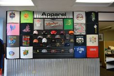Custom apparel from heat press, screen printing and embroidery!