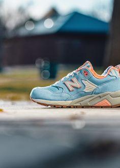 New Balance Women's 580 Seaside Hideaway  #NewBalance #580 #Womens #Fashion #Streetwear #Style #Urban #Lookbook #Photography #Footwear #Sneakers #Kicks #Shoes