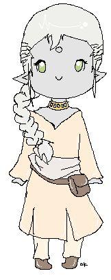 Sati'vah, my Drowtales character.