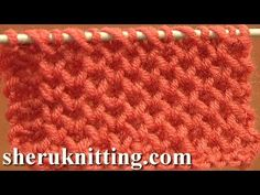 Knitting Stitch Patterns Tutorial 4 Honeycomb Knitting Stitch How to - YouTube