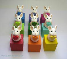 Tiny Rainbow Love Mouse (£15)