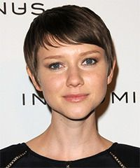 Valorie Curry Hairstyle: Casual Short Straight Hairstyle