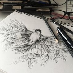 "5,698 Beğenme, 5 Yorum - Instagram'da Идеи татуировок (@tattoopins): ""Drawing by @olshery"""