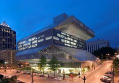 Visit the Seattle Public Library